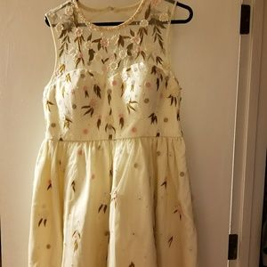 modcloth formal dress xl